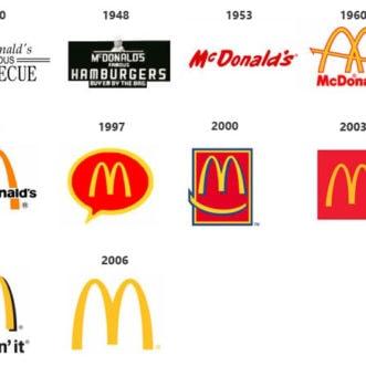 La evolución de algunos logos famosos