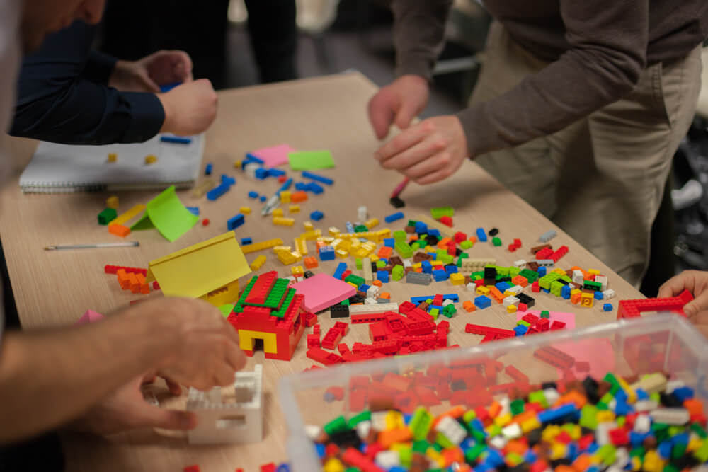 Design Thinking con Lego