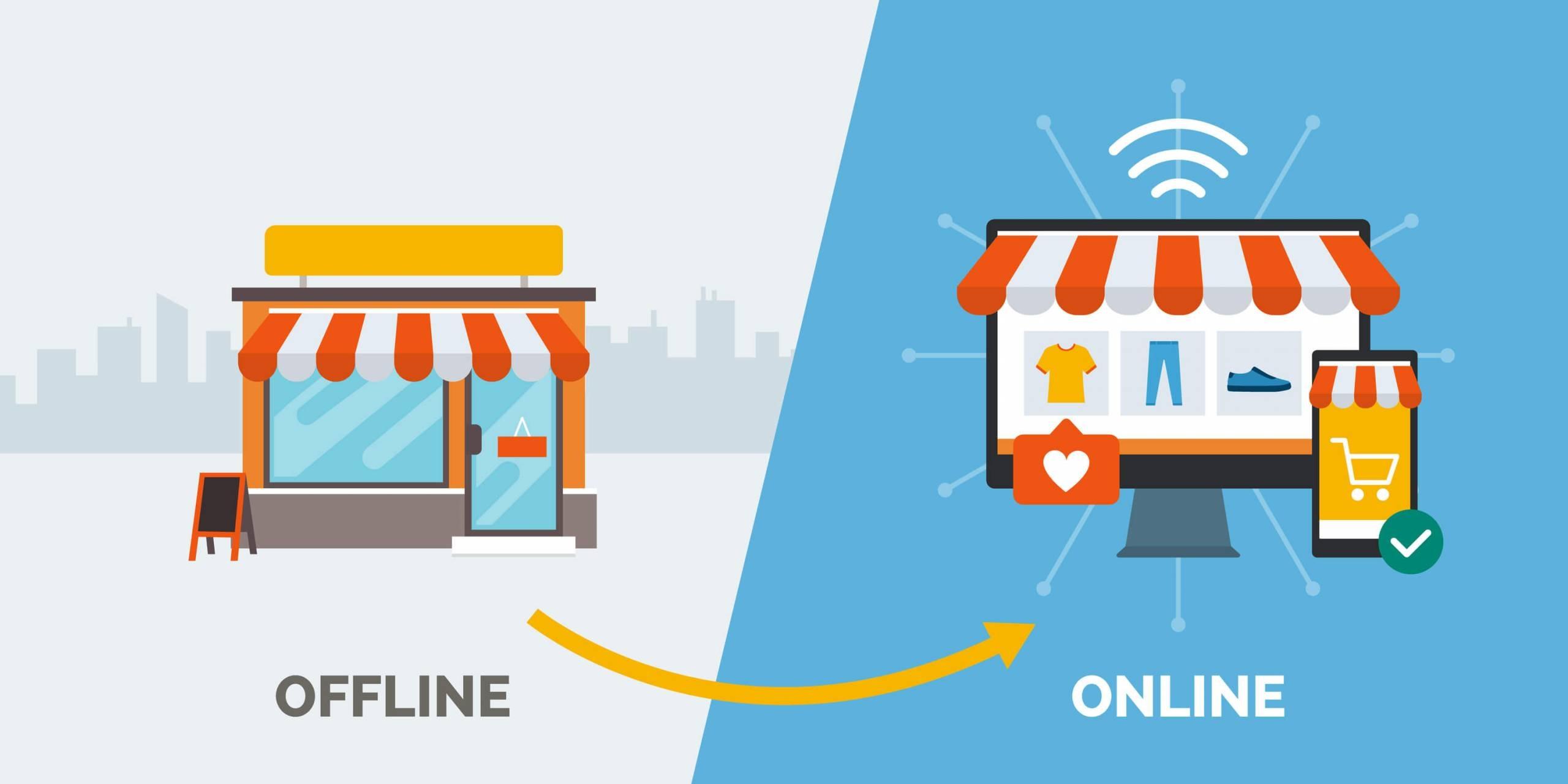 Comercio tradicional versus comercio digital