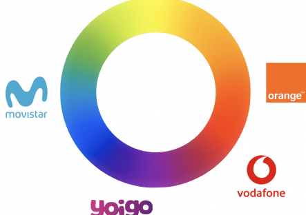 Marcas y colores