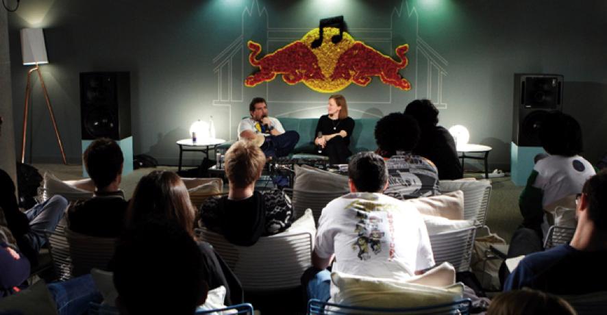 Red Bull Music Academy: una de las iniciativas de branded content de la marca.