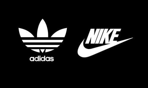 """Las marcas Adidas y Nike, líderes en su sector, compitiendo en el mercado y en las olimpiadas por su lugar en el """"Pódium B""""."""