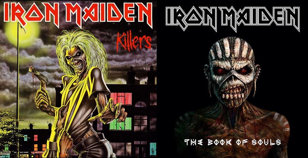 portadas iron maiden