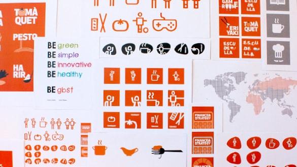 propuestas diseño GB Foods
