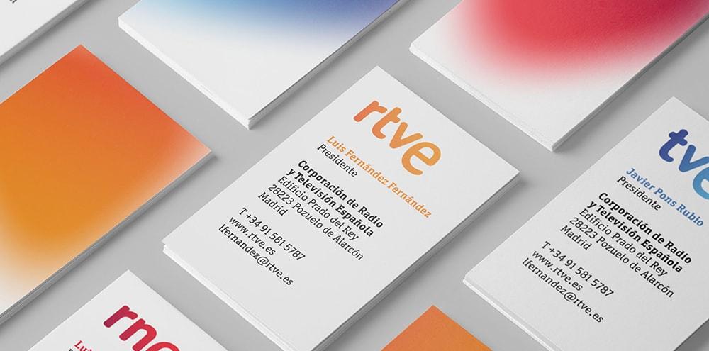 RTVE tarjetas