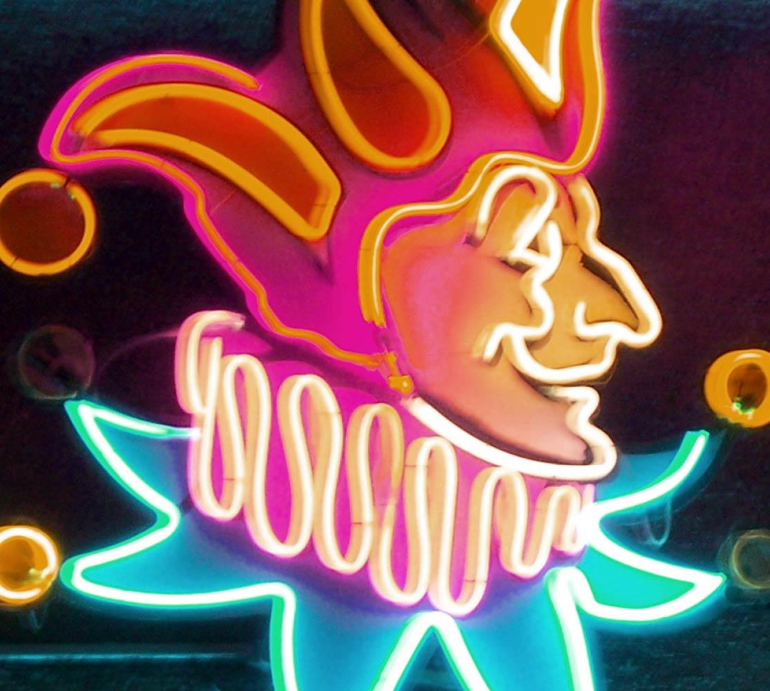 Joker luces neon