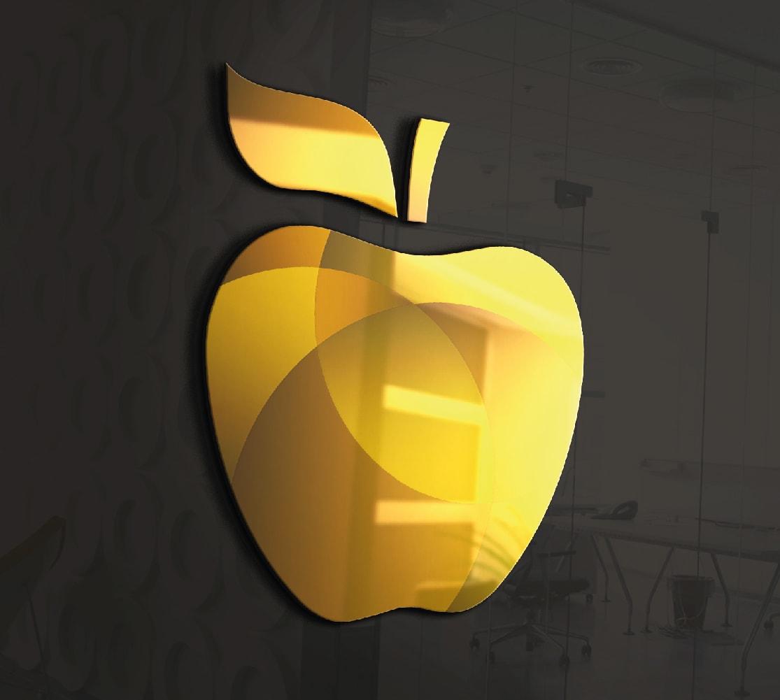 CIRSA logo 3D dorado