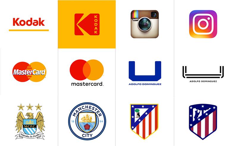 logos rediseñados