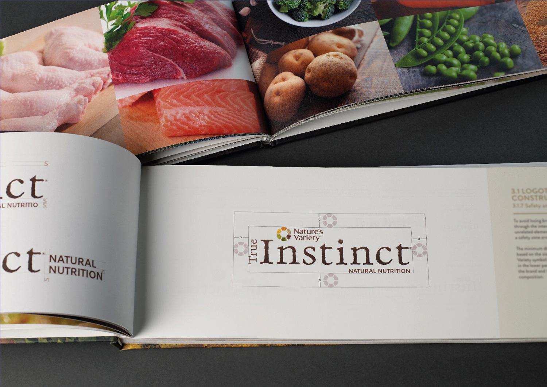 Brand book Instinct - Construcción del logotipo